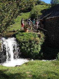 F'Estivales des Causses à l'Aubrac : visite du Moulin de la Germanie