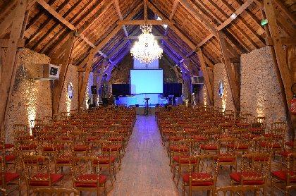 Château de Labro - Salle de réception, OFFICE DE TOURISME DU GRAND RODEZ