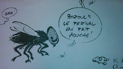 6èmes Rencontres Bozoulaises de la caricature et du dessin d'humour