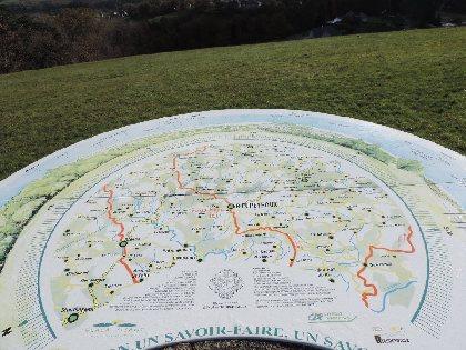 Point de vue panoramique et Table d'orientation