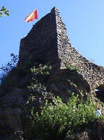 Vestiges du château de Peyroles
