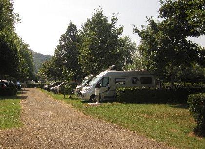 Aire de service - Camping Roc de l'Arche d'Espalion, OFFICE DE TOURISME DU CANTON D'ESPALION