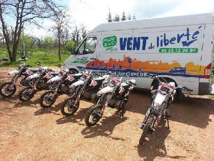 Vent de Liberté/Stage moto et quad enfant