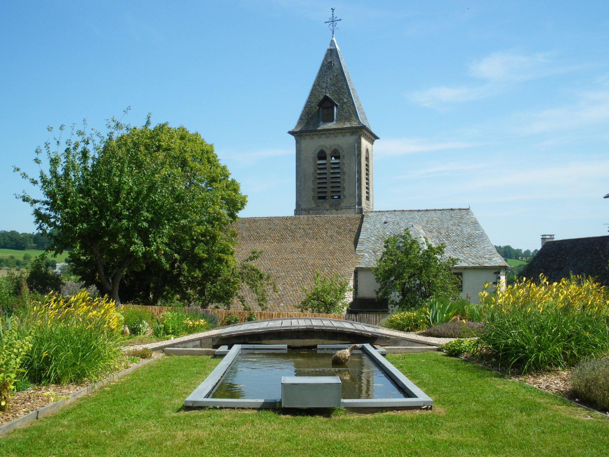 Le jardin des 5 sens visite tourisme aveyron for Le jardin des epilobes