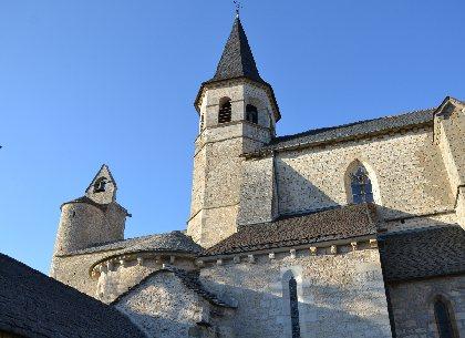 Eglise de Villeneuve, OFFICE DE TOURISME REGIONAL DE VILLEFRANCHE DE ROUERGUE