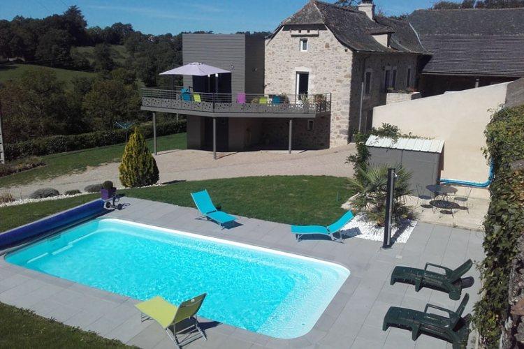 Gite de g lis bas ayg 3194 maleville g te tourisme aveyron - Office de tourisme villefranche de rouergue ...