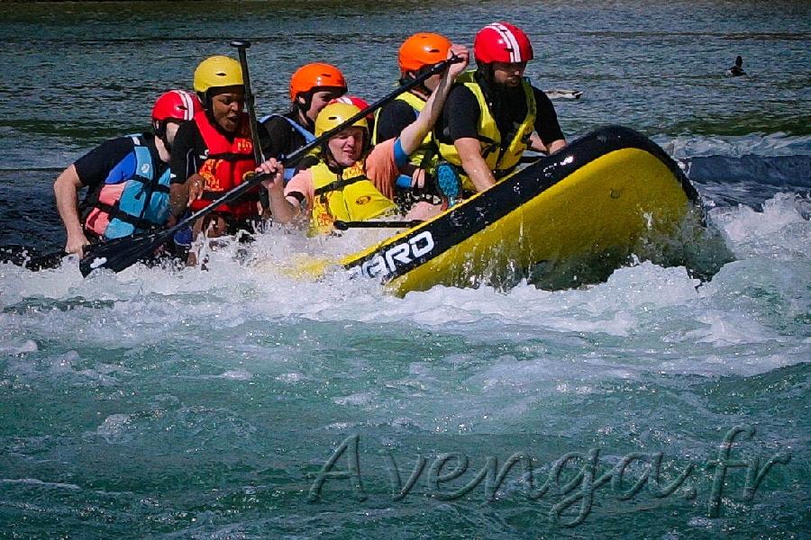 Avenga - paddle géant