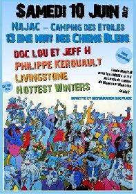 Festival des têtes de chiens bleus