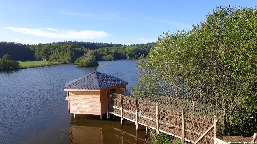 Observatoire du lac de la Gourde