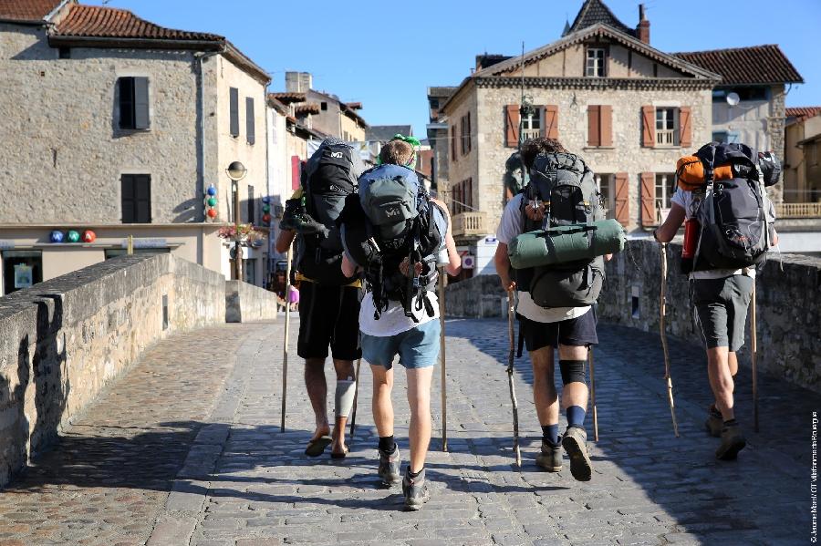 Le chemin Conques -Toulouse (itinéraire de liaison jacquaire)