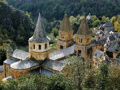 Circuit d'Estaing - Conques