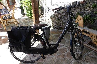 Location de vélos électriques- Le Clos de Banes