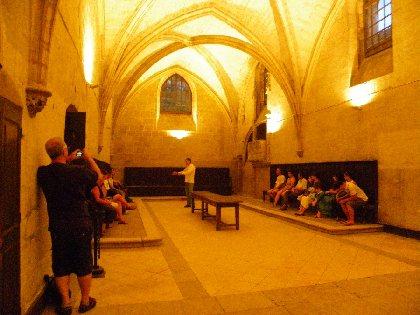 Visite nocturne du Monastère de la Chartreuse St Sauveur