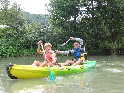 F'Estivales du Lot à l'Aubrac : descente libre en canoé avec le Canoé Marmot