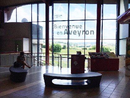 Aire de l'Aveyron - A75 (Espace Tourisme)