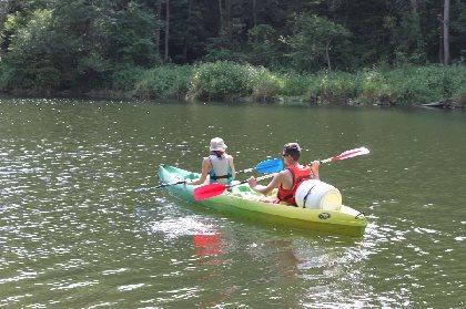 F'Estivales des Causses à l'Aubrac : balade en canoë sur eau plate avec O'Paddle d'Olt