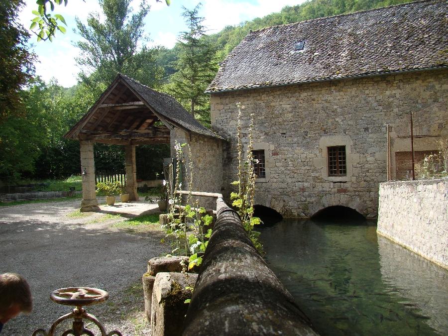 Pisciculture le Moulin de Gourjan