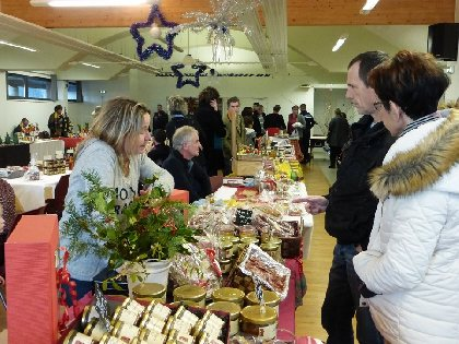 Marché de Noël à Thérondels