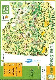 Site de course d'orientation Les Bosquets