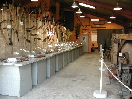 Musée du couteau de Laguiole, de l'objet forge et de l'outil tranchant