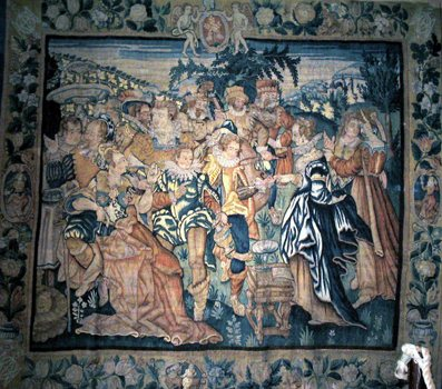 Musée J-Fau - Collection de tapisseries de Felletin - série de Marie Madeleine, Service Patrimoine de Conques