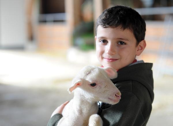 Visite de la ferme du Frayssinet