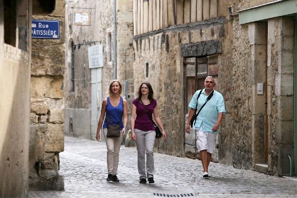 Bastide de Villefranche de Rouergue - Visite guidée du centre ancien