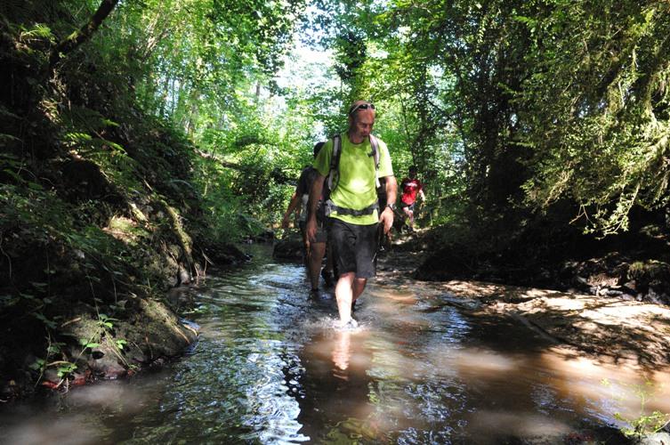 Accompagnateur remontée de ruisseaux : Arnaud Eyssette
