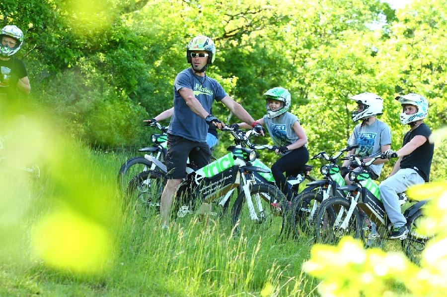 Air Globe - Fun e-bike Initiation moto trial